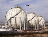Gas tanks — Stock Photo