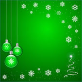 Green Christmas — Stock Vector
