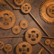 Royalty-Free Stock Photo: Rusty Gears
