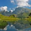 View to Malyovitsa from Urdini lakes — Stock Photo
