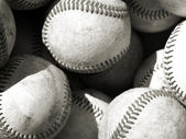 Bucket of balls — Foto Stock