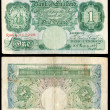 Old English bank note — Lizenzfreies Foto
