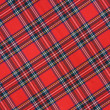 Royalty-Free Stock Photo: Royal Stewart tartan