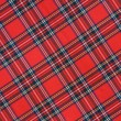 Stock Photo: Royal Stewart tartan