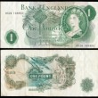 Stock Photo: Old English bank note