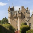 crathes castle in scotland — Stock Photo