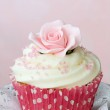 Rose cupcake — Stock Photo #2059333