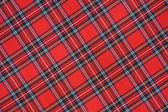 Royal Stewart tartan — Stock Photo