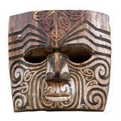 Maori carving — Stock Photo