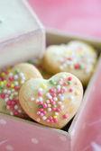 Cookie gift box — Stock Photo
