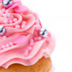 粉红色蛋糕 — 图库照片