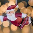 Santa Claus tree ornament — Stock Photo