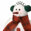Snowman soft toy — Stock Photo #2219163
