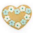 Heart shaped cookie — Stock Photo #2219247