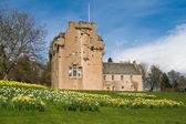 Crathes Castle in Scotland — Stock Photo