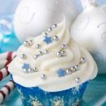 Christmas cupcake — Stock Photo #2232459