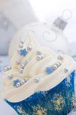 Kerstmis cupcake — Stockfoto