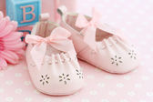 Baby shoes — Stock Photo