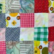 Patchwork background — Stock Photo