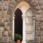 Stone window in Tuscany — Stock Photo #2259962
