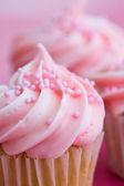 Różowy babeczki — Zdjęcie stockowe