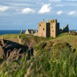 Dunottar Castle in Scotland — Stock Photo