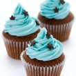 Chocolate cupcakes — Stock Photo #2264922