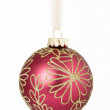 Christmas bauble — Stockfoto