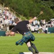 Stock Photo: Scotsmcompeting at Highland Games