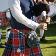 Scottish bagpiper - Stockfoto