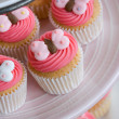 Foto Stock: Cupcake selection