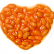 Stock Photo: I love baked beans