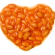 Royalty-Free Stock Photo: I love baked beans