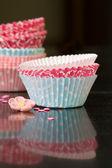 Cupcake-fällen — Stockfoto