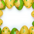 Easter egg background — Stock Photo