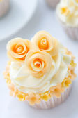 Wedding cupcake — Photo