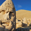 Giant heads at Nemrut Dagi - Stock Photo