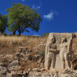 Stock Photo: Nemrut Dagi relief