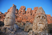 Nemrut Dagi at sunrise — Stock Photo