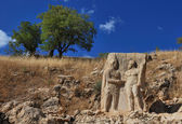 Nemrut Dagi relief — Stock Photo