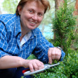 Women gardener — Stock Photo