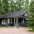 Finnish cottage - Stock Photo
