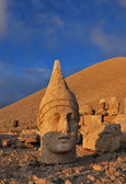 Nemrut Dagi at sunset — Stock Photo