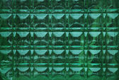 Green glass background — Stock Photo
