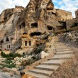 Cappadocia cave hotel - Stock Photo
