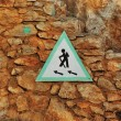 Stock Photo: Hiking sign