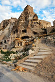 Cappadocia cave hotel — Stock Photo