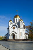 Fine orthodox church. — Stock Photo