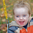Toddler at the park — Stock Photo