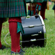 Cultural image of Scottish Drummer. — Stock Photo #2091357